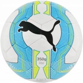 Мяч футбольный Puma Evo Power Lite 350g (82558-01) - голубой, №5