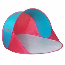 Тент пляжный SportVida Blue/Pink (SV-WS0001) - голубо-красный, 190 x 120 см