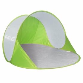 Тент пляжный SportVida Green/Grey (SV-WS0002) - бело-зеленый, 190 x 120 см