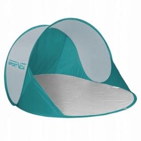 Тент пляжный SportVida Green/Grey (SV-WS0005) - бело-голубой, 190 x 120 см