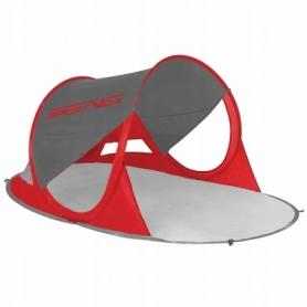 Тент пляжный SportVida Grey/Red (SV-WS0009) - красно-серый, 190 x 120 см