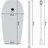 Доска для плавания на волнах SportVida Bodyboard (SV-BD0001-5) - Фото №5
