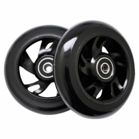Колеса для трюкового самоката SportVida Alu Abec 9 RS 100 мм PU (SV-WO0010), черные