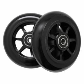 Колеса для трюкового самоката SportVida Alu Abec 9 RS 100 мм PU (SV-WO0012), черные