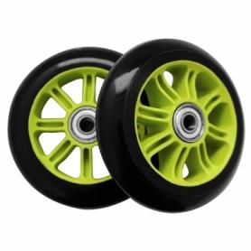 Колеса для трюкового самоката SportVida PP Abec 7 100 мм (PU SV-WO0015), зеленые