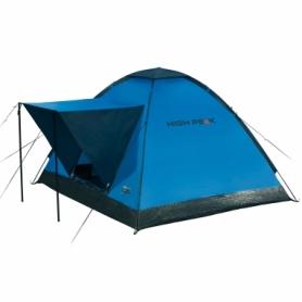 Палатка трехместная High Peak Beaver 3 Blue/Grey (928255)
