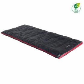 Спальный мешок (спальник) High Peak Ranger/+7°C Anthra/Red (Left) (928260)