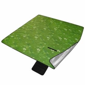 Коврик туристический складной SportVida (SV-CC0048) - зеленый, 200х200х0,3см