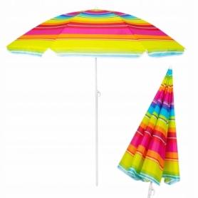 Зонт пляжный с регулируемой высотой Springos (BU0005) - салатовый, 160 см