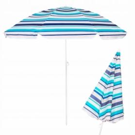 Зонт пляжный с регулируемой высотой Springos (BU0006) - голубой, 160 см