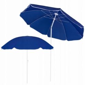 Зонт пляжный с регулируемой высотой и наклоном Springos (BU0007) - синий, 180 см
