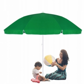Зонт пляжный (садовый) усиленный с регулируемой высотой Springos (BU0004), 240 см