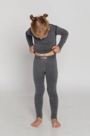 Термоштаны детские повседневные Haster Merino Wool Hanna Style (SL04-42w2)
