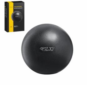 Мяч для пилатеса, йоги, реабилитации 4Fizjo Black (4FJ0139), 22 см