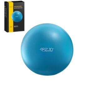 Мяч для пилатеса, йоги, реабилитации 4Fizjo Blue (4FJ0140), 22 см