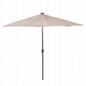 Зонт садовый с LED подсветкой (автономная) Springos (GU0006), 300 см - Фото №9