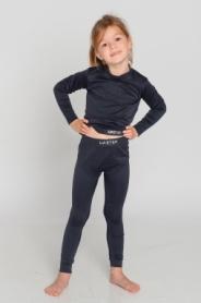 Термоштаны детские повседневные/спортивные Haster ThermoClima Hanna Style (SL04-42s1)
