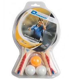 Набор для настольного тенниса Donic-Schildkrot Appelgren 300 4-Player Set (4 ракетки Appelgren 300, 3 мяча) (788639-40+)