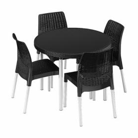 Комплект садовой мебели Jersey set Keter (7290106925045), серый