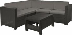 Комплект садовой мебели Provence Set Keter (3253929173004), серый