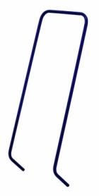 Ручка для санок Snower 4820211100667, синяя