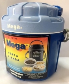 Контейнер изотермический Mega (0717040954247BLUE), 3,5 л