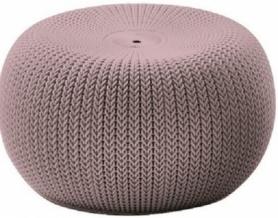 Кресло-пуф KNIT SEAT (COZIES) Keter (7290106932081), лиловый