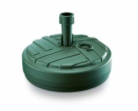 Подставка для садового зонта круглая Prosperplast (5905197977843) - зеленая, 10л