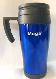 Термочашка PR040 Mega (0717040761241BLUE) - синяя, 0,4л