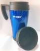 Термочашка PR040 Mega (0717040761241BLUE) - синяя, 0,4л - Фото №2