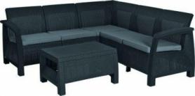 Набор мебели Bahamas Relax Keter (3253929184000), серый