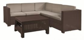Комплект садовой мебели Provence Set Keter (7290103653569), коричневый