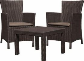 Набор мебели Rosario balcony set Allibert (8711245130422), коричневый