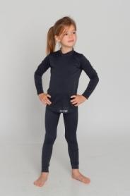 Комплект термобелья детский повседневный/спортивный Haster ThermoClima (SL90241) - черное