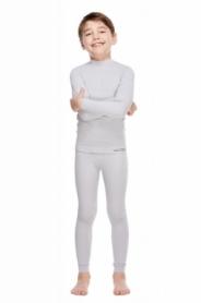 Комплект термобелья детский повседневный/спортивный Haster ThermoClima (SL90232) - серое