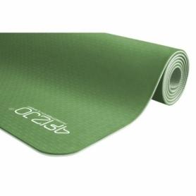 Коврик (мат) для йоги и фитнеса 4FIZJO TPE (4FJ0142) - зеленый, 183х61х0.6см