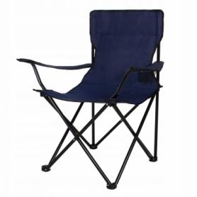 Кресло складное для кемпинга и рыбалки Springos (CS0003), синее