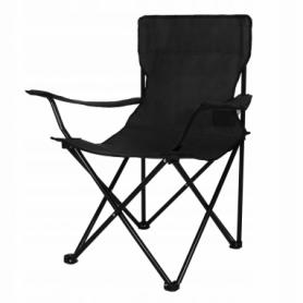Кресло складное для кемпинга и рыбалки Springos (CS0001), черное