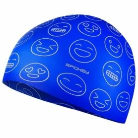 Шапочка для плавания детская Spokey Emoji (SL927909) (original), синяя