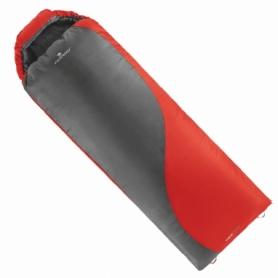 Мешок спальный (спальник) Ferrino Yukon Pro SQ/+3°C Scarlet Red/Grey (Left) (928107)