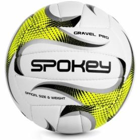Мяч волейбольный Spokey Gravel Pro (927518) (original) - бело-желтый, №5