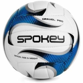 Мяч волейбольный Spokey Gravel Pro (927519) (original) - бело-синий, №5