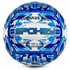 Мяч волейбольный Spokey Cumulus Pro 927517 (original) - бело-синий, №5