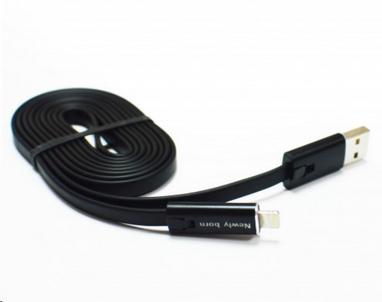 Распродажа*! Многоразовый кабель Newly Born Repairable USB - Lightning (для Iphone), черный