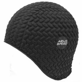 Шапочка для плавания Aqua Speed Bombastic Tic-Tac (original) (SL49737), черная