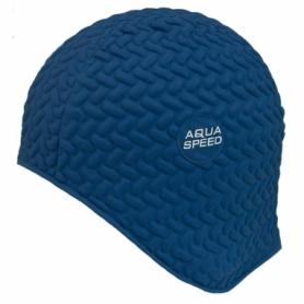 Шапочка для плавания Aqua Speed Bombastic Tic-Tac (original) (SL49713), синяя