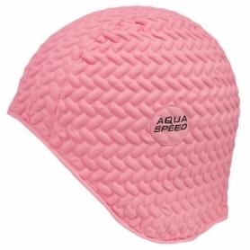 Шапочка для плавания Aqua Speed Bombastic Tic-Tac (original) (SL49711), розовая