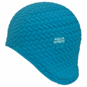 Шапочка для плавания Aqua Speed Bombastic Tic-Tac (original) (SL49709), голубая
