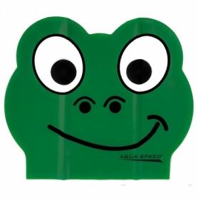 Шапочка для плавания детская Aqua Speed Zoo Latex (SL5712) (original), зеленая