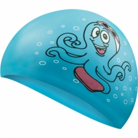 Шапочка для плавания детская Aqua Speed Kiddie Octopus (SL7216) (original), голубая